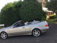 Mercedes clk 320 cabriolet amg bmw allys 18s slk 03 sports c200 full leather automatic convertible