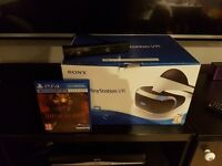 Playstation VR with camera and game.