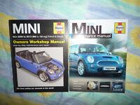 Haynes MINI Workshop Manual 4904 (06-13) & New MINI Performance Manual H4122
