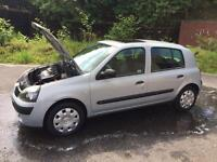 Renault Clio 53 , 4 door, low miles/ 50000 miles