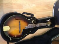 Beautiful electric Gremlin mandolin.. mint condition with hard case