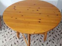 Pine Drop Leaf Table