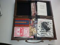 Compendium of Games in a Leatherette Case