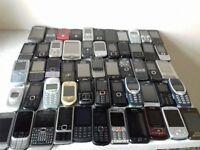 Job lot 120 x mobile phones faulty htc samsung sony ericsson nokia lg motorola