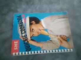 She Quickie cook book no 2 1964