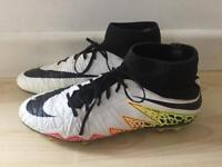 Nike sock football boots size uk 8