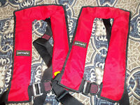 LIFE JACKETS (adults) 2 off Parmaris