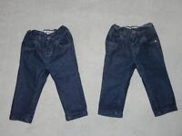2 x Baby boys skinny jeans from NEXT. Size 3-6 months