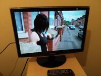 """Very good 22"""" SAMSUNG LCD TV, freeview"""
