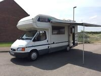 Ford transit herald insignia 400e 5to6 berth Motorhome 1997 p reg 5 speed with powerd stearing