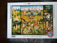 1000 piece puzzle, Eurographics, The Garden of Earthly Delights