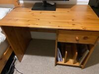 Writing table and chair in excellent condition for sale