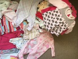 0-6 months girl bundle