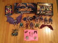 Vintage 1990s Disney Gargoyles Action Figure Lot Board Games
