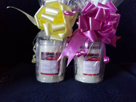 Gift wrapped Wax Lyrical scented candles (2 Available)