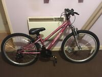 Brand new girls pink apollo bike never used, tyres are brand new as can see on pictures.