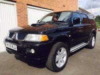 2005 55 Mitsubishi Shogun Sport Warrior 2.5 TD Full Leather 130k 4x4 not pajero terrano land rover