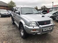 2002 Mitsubishi L200 2.5 TD Warrior Limited Edition 4dr 2 PREVIOUS OWNER + 2 KEYS+NO VAT