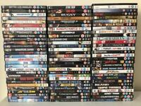 Collection of 88 DVDs