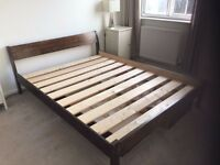 King Size Bed + mattress from Warren Evans - costs £1,300+ new