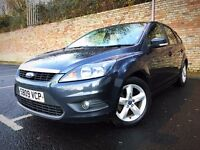 NEW SHAPE 2009 FORD FOCUS ZETEC 1.6 12 MONTH MOTSERVICE HISTORY [not golf polo fiesta clio]