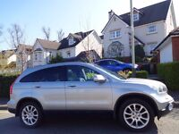 SPRING/SUMMER SALE!! (2008) HONDA CR-V EX 2.2 I-CTDi 4WD SUV Massive Spec FREE DELIVERY/MOT/TAX/FUEL