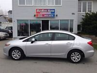 2012 Honda Civic LX  Only 28,000 kms!