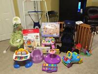 One stop baby shop! Several items looking for a new family