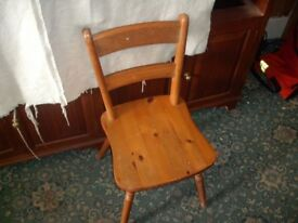 Single Wooden Dining Chair ID 101/8/18