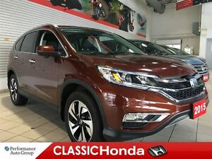 2015 Honda CR-V TOURING NAVIGATION ONE OWNER REAR CAM