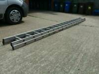 Youngman Extension Ladder, 2 section, 4.5m closed height, 2 x 17 rung. Extended height 8metres.