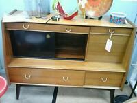 G PLAN drinks cabinet / sideboard. Delicia