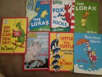 THE CLASSIC COLLECTION BY DR SEUSS SET OF BOOKS PLEASE SEE THE OTHER PHOTO