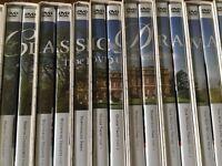 BBC Classic Drama DVD Collection [38 series, 67 DVD's]