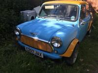 Classic mini Mayfair for sale as project