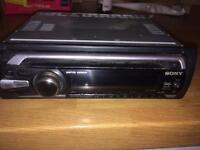 Sony XPLOD CD player face off
