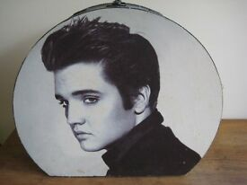 Vintage Elvis Domed Day Travelling Case. OFFERS WELCOME.