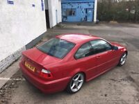 [Simmons BMW Livingston] BMW E46 3 series 318Ci Sport FACELIFT Coupe - BREAKING PARTS Imola Red
