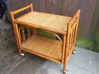 Wicker Hostess Trolley Delivery Available