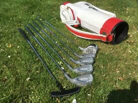 Child's golf clubs - suit 8-10 year old