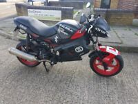 gilera dna 125cc with private plate