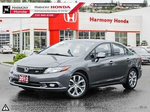2012 Honda Civic Sdn 4dr Man Si