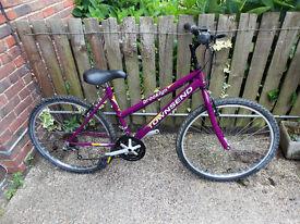"Mountain Bike, Townsend Brooklyn, 26"", 18 gears, good condition"