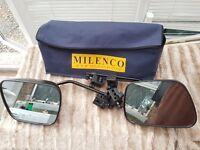 Milenco Grand Aero Caravan Towing Mirrors with Bag