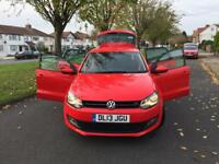 Volkswagen Polo 1.2 Match 5dr 2013 full service history, cheap Insurice