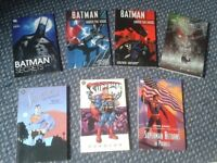 Batman & Superman Graphic Novels