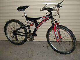 saracen mountain bike £80.00