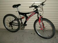 saracen mountain bike £80.00