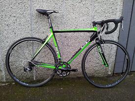 GT Series Four road bike, Ultegra/105, excellent condition