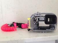 Sony cybershot DSC-T30 7.2m mega pixel camera with MPK THC Marine pack housing.